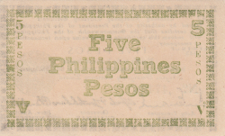 5 Pesos 1943