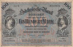 Image #1 of 100 Mark 1911 (2. I.) - Ser. VII.