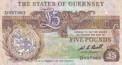 5 Pounds ND (1980-1989)