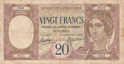Imaginea #1 a 20 Franci ND (1929)