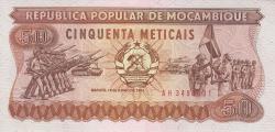 Image #1 of 50 Meticais 1983 (16. VI.)