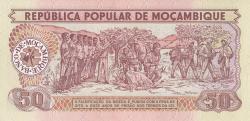 Image #2 of 50 Meticais 1983 (16. VI.)
