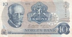 Image #1 of 10 Kroner 1974