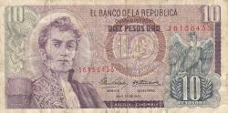 Imaginea #1 a 10 Pesos Oro 1964 (20. VII.)