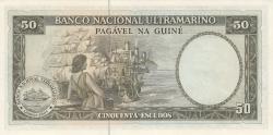 Imaginea #2 a 50 Escudos 1971 - semnătură ADMINISTRADOR: Samuel Rodrigues Sanches