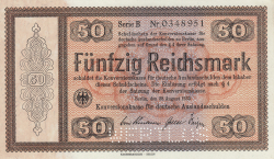 Image #1 of 50 Reichsmark 1933 (28. VIII.)