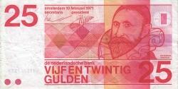 Image #1 of 25 Gulden 1971 (10. II.)