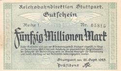 Image #1 of 50 Millionen (50 000 000) Mark 1923 (26. IX.)