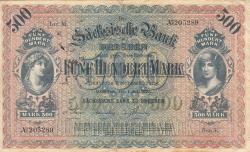 Image #1 of 500 Mark 1922 (1. VII.) - Ser. V