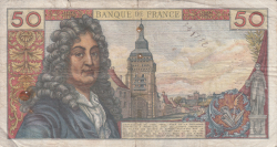 Image #2 of 50 Francs 1962 (7. VI.)