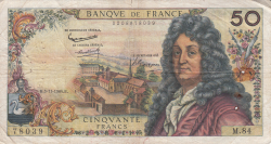 Image #1 of 50 Francs 1964 (5. XI.)