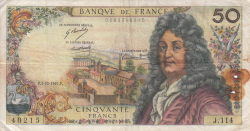 Image #1 of 50 Francs 1967 (7. XII.)