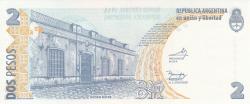 Image #2 of 2 Pesos ND (2002) - signatures Mercedes Marcó del Pont / Domingues