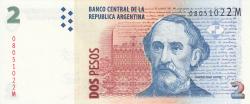 Image #1 of 2 Pesos ND (2002) - signatures Mercedes Marcó del Pont / Domingues