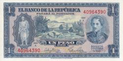 Imaginea #1 a 1 Peso Oro 1953 (7. VIII.)