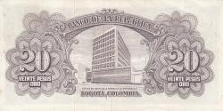 Imaginea #2 a 20 Pesos Oro 1965 (2. I.)