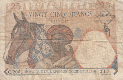 Image #1 of 25 Francs 1942 (9. I.)