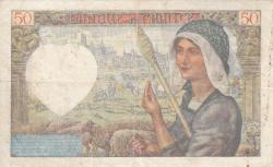 Image #2 of 50 Francs 1942 (8. I.)