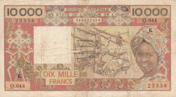 Imaginea #1 a 10 000 Franci ND (1977-1992)