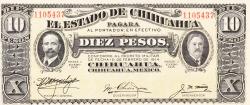 10 Peso 1915 (I.) - 2