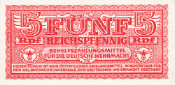 Image #1 of 5 Reichspfennig ND (1942)