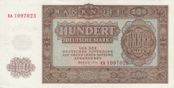 Image #1 of 100 Deutsche Mark 1955