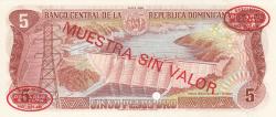 Imaginea #2 a 5 Pesos Oro 1985 - SPECIMEN