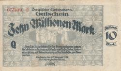 Image #1 of 10 Millionen (10 000 000) Mark 1923 (20. VIII.)