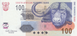 100 Rand ND (2010) - signature Gill Marcus