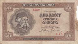 20 Dinara 1941 (1. V.)