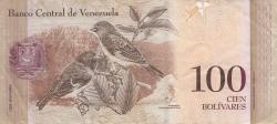 Imaginea #2 a 100 Bolivares 2007 (24. V.)