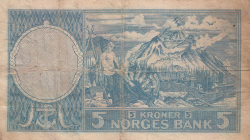 Imaginea #2 a 5 Coroane 1955
