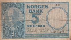Imaginea #1 a 5 Coroane 1955