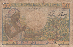 Image #1 of 50 Francs ND (1957)