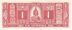 Image #2 of 1 Lempira 1961 (10. II.)