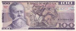 Image #1 of 100 Pesos 1981 (27. I.) - Serie SU