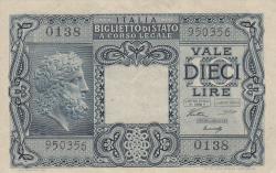 Image #1 of 10 Lire 1944 (23. XI.)