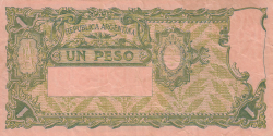 Image #2 of 1 Peso ND (1925-1932)