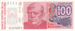 Image #1 of 100 Australes ND (1985-1990)
