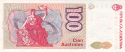 Image #2 of 100 Australes ND (1985-1990)