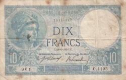Image #1 of 10 Francs 1916 (28. VI.)