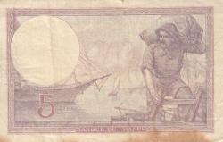 Image #2 of 5 Francs 1922 (12. VII.)