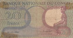 Image #1 of 20 Francs 1961 (15. XI.)