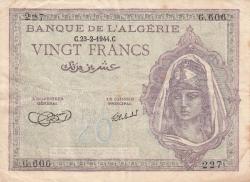 Image #1 of 20 Francs 1944 (23. II.)