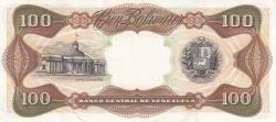 Imaginea #2 a 100 Bolivares 1987 (3. II.)