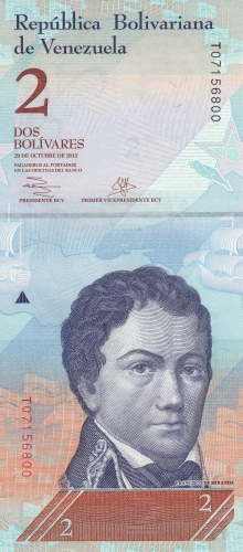 Imaginea #1 a 2 Bolivares 2013 (29. X.)