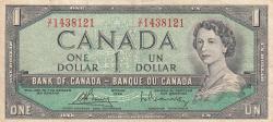 Imaginea #1 a 1 Dolar 1954 (1972-1973)