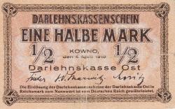 1/2 Mark 1918 (4. IV.)