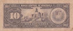 Imaginea #2 a 10 Bolívares 1986 (18. III.)