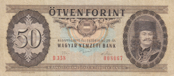 Imaginea #1 a 50 Forint 1975 (28. X.)